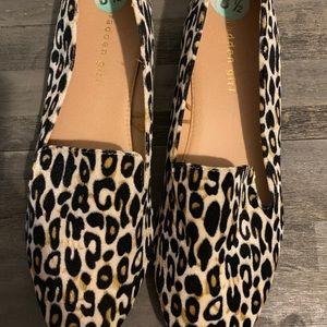 Madden girl leopard loafer size 8.5